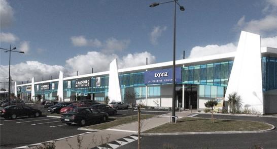 Centre commercial « Le Grand Bleu »