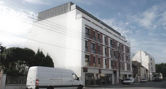 Immeuble collectif « Pierre de Coubertin »